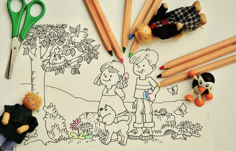 Your child's development: coloring and its benefits